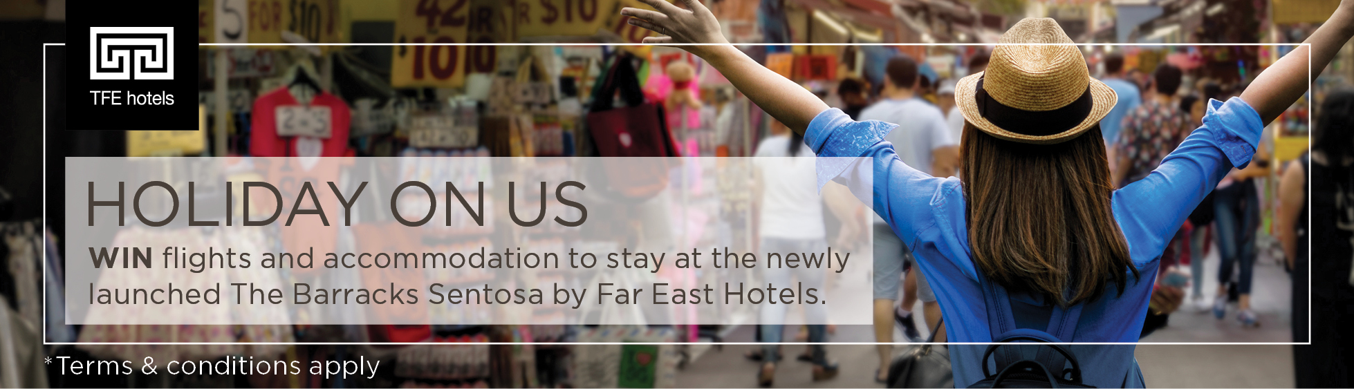 tfe Hotels holiday on us